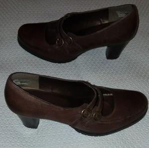 Bass&co high heel Maryjane shoes